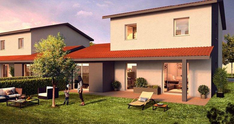 Achat / Vente programme immobilier neuf Taluyers 20 minutes de Lyon (69440) - Réf. 874