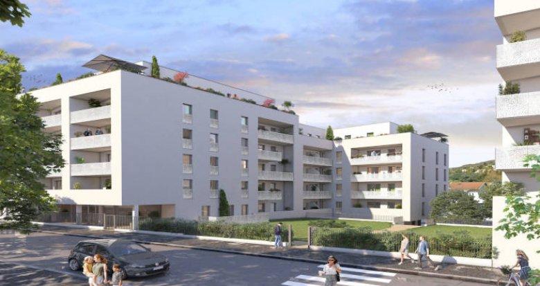 Achat / Vente programme immobilier neuf Tarare à côté de la gare (69170) - Réf. 5937