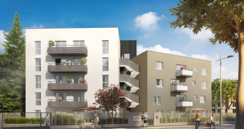 Achat / Vente programme immobilier neuf Tassin-la-Demi-Lune cœur centre-ville (69160) - Réf. 3097