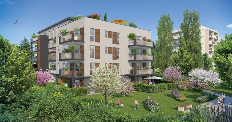 Achat / Vente programme immobilier neuf Tassin-la-Demi-Lune proche centre (69160) - Réf. 2242