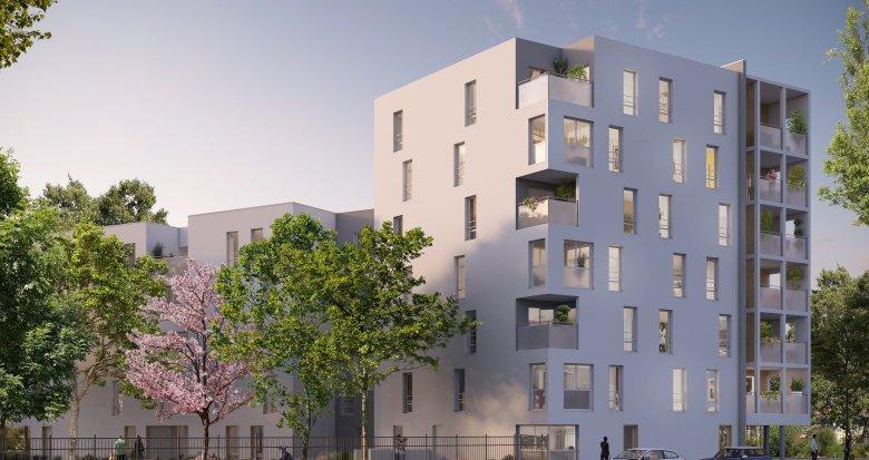 Achat / Vente programme immobilier neuf Vaulx-en-Velin à 10 minutes à pied du métro (69120) - Réf. 3609