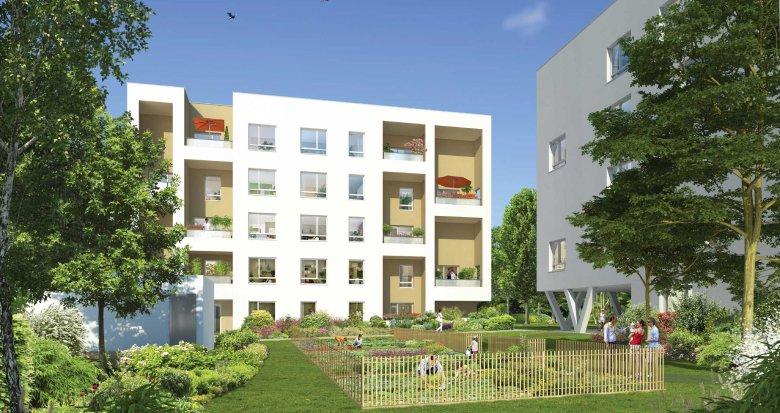 Achat / Vente programme immobilier neuf Vaulx-en-Velin est, proche écoles (69120) - Réf. 745