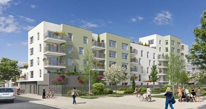 Achat / Vente programme immobilier neuf Vaulx-en-Velin nouveau quartier Carré de Soie (69120) - Réf. 828
