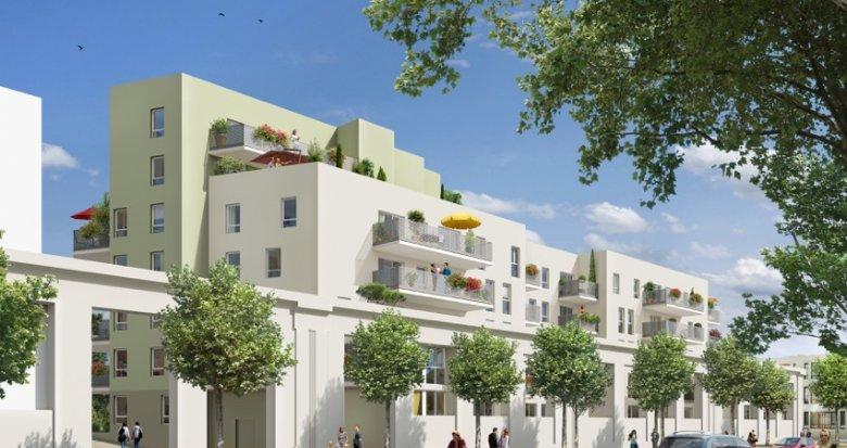 Achat / Vente programme immobilier neuf Vaulx-en-Velin nouveau quartier Carré de Soie (69120) - Réf. 402