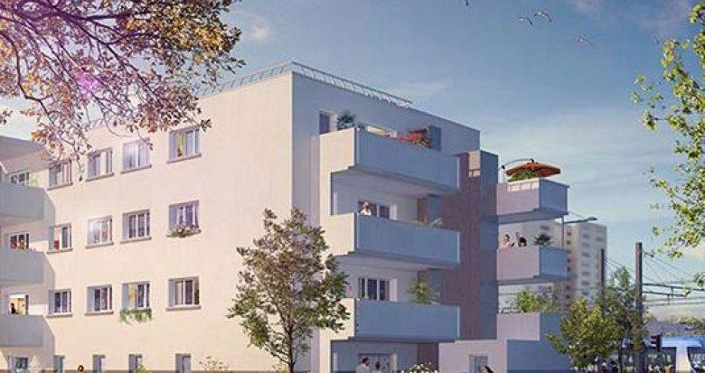Achat / Vente programme immobilier neuf Vaulx-en-Velin proche arrêt Maurice Thorez (69120) - Réf. 1301
