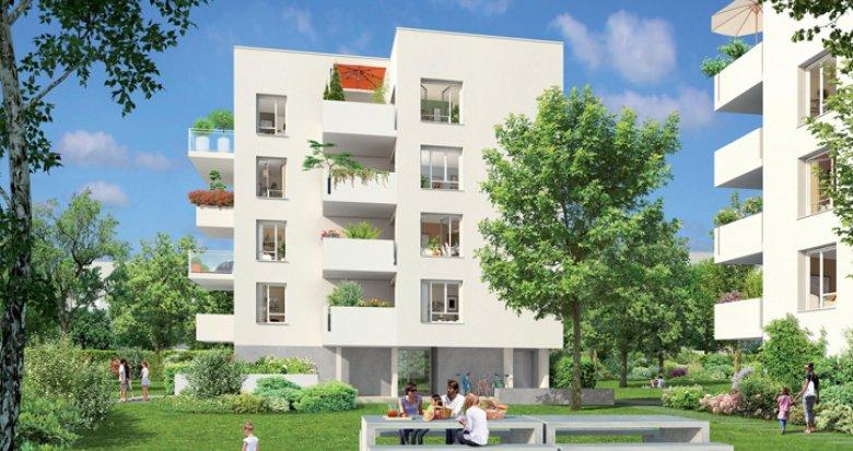 Achat / Vente programme immobilier neuf Vaulx-en-Velin proche avenue Georges Rougé (69120) - Réf. 1975