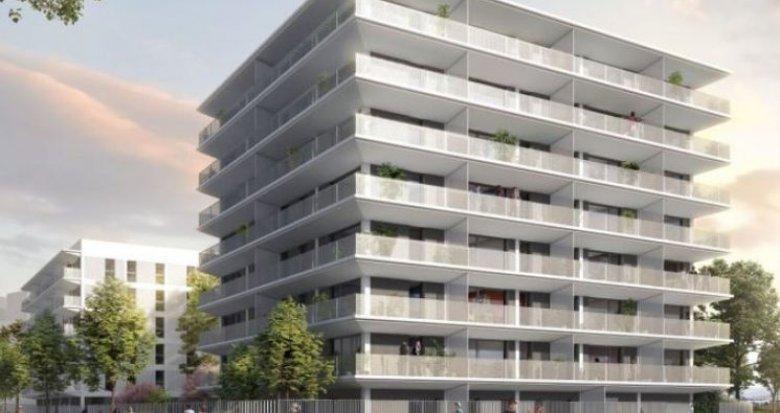 Achat / Vente programme immobilier neuf Vaulx-en-Velin proche Carré de Soie (69120) - Réf. 2594