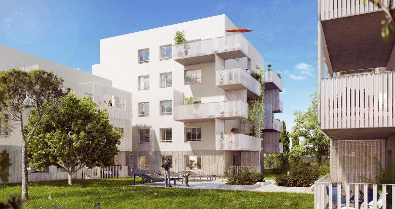 Achat / Vente programme immobilier neuf Vaulx-en-Velin proche centre commercial Carré de Soie (69120) - Réf. 1926