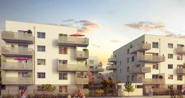 Achat / Vente programme immobilier neuf Vaulx-en-Velin proche de Lyon (69120) - Réf. 2239