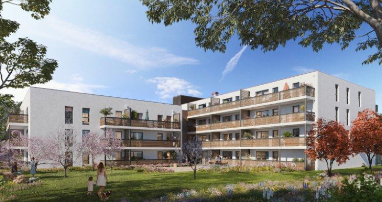Achat / Vente programme immobilier neuf Vaulx-en-Velin proche métro A (69120) - Réf. 5582