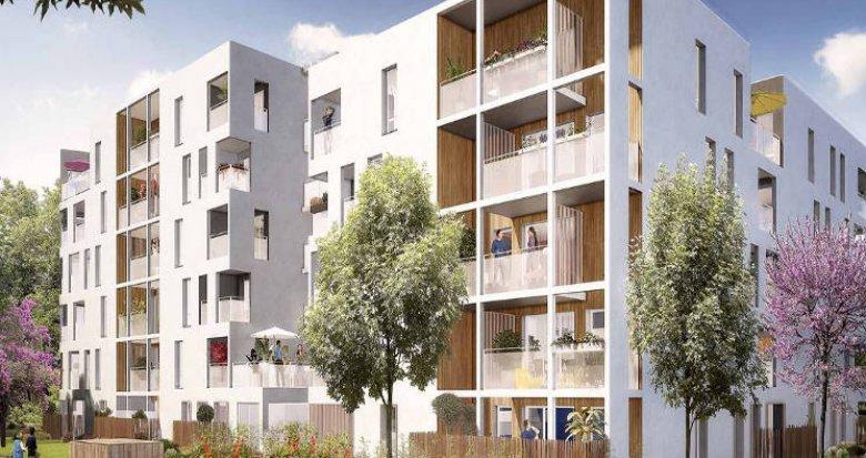Achat / Vente programme immobilier neuf Vaulx-en-Velin quartier Carré de Soie (69120) - Réf. 2991