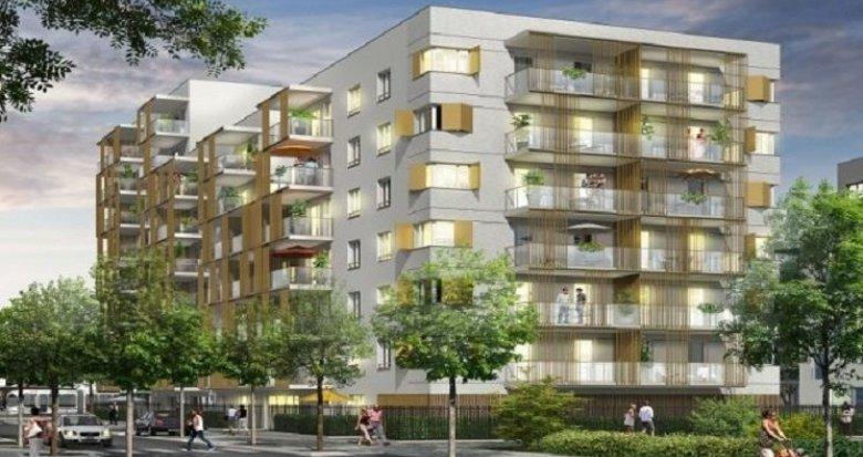 Achat / Vente programme immobilier neuf Vaulx-en-Velin quartier connecté La Soie (69120) - Réf. 905