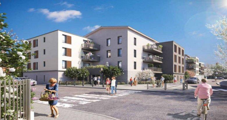 Achat / Vente programme immobilier neuf Vaulx-en-Velin quartier Le Village (69120) - Réf. 3364