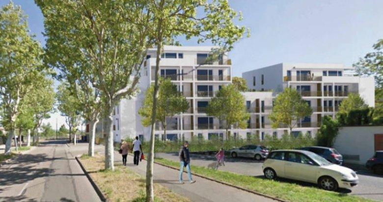 Achat / Vente programme immobilier neuf Vaulx-en-Velin secteur Carré de Soie (69120) - Réf. 4813