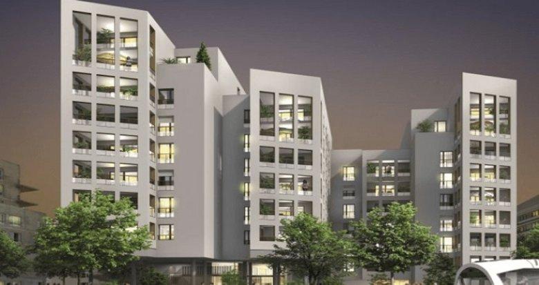 Achat / Vente programme immobilier neuf Vaulx-en-Velin secteur La Soie (69120) - Réf. 1309
