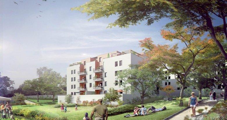 Achat / Vente programme immobilier neuf Vénissieux 15 minutes Lyon Part-Dieu (69200) - Réf. 657