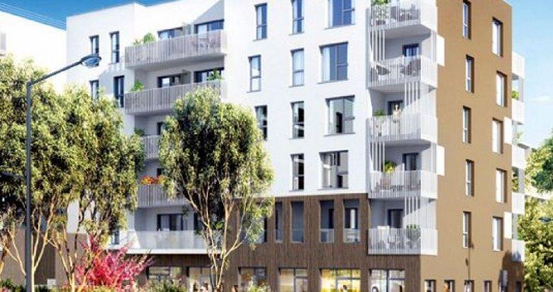 Achat / Vente programme immobilier neuf Vénissieux proche arrêt de Tramway Croizat-Paul Bert (69200) - Réf. 1104