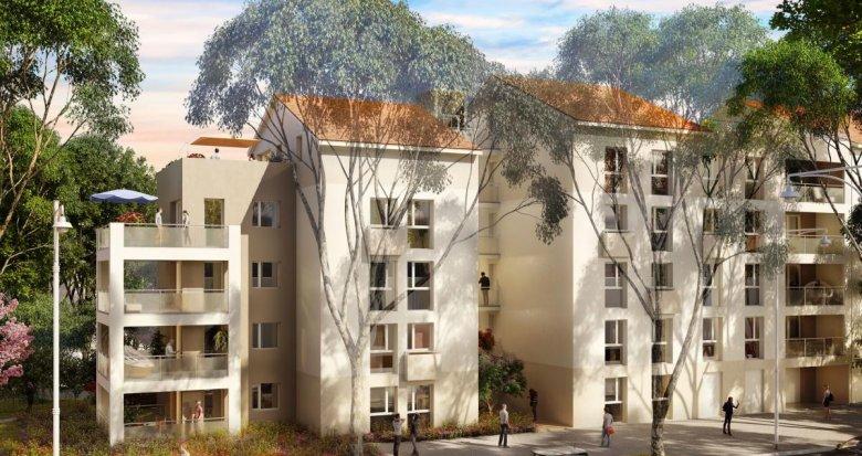 Achat / Vente programme immobilier neuf Vénissieux proche de l'arrêt de métro Parilly (69200) - Réf. 2323