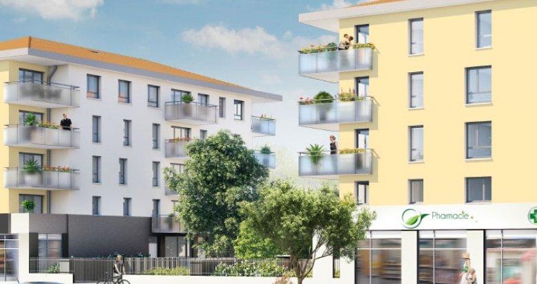 Achat / Vente programme immobilier neuf Vénissieux proche établissements scolaires (69200) - Réf. 793
