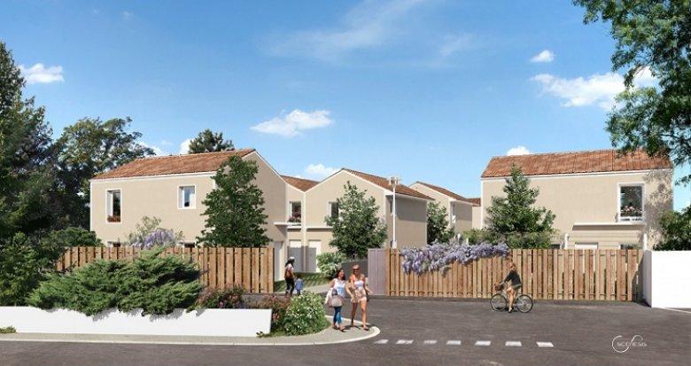 Achat / Vente programme immobilier neuf Vénissieux proche parc de Parilly (69200) - Réf. 1770