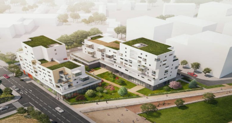Achat / Vente programme immobilier neuf Vénissieux proche Parc Parilly (69200) - Réf. 3512