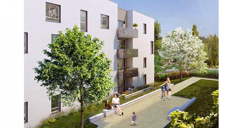 Achat / Vente programme immobilier neuf Vénissieux proche Tramway T4 (69200) - Réf. 1841