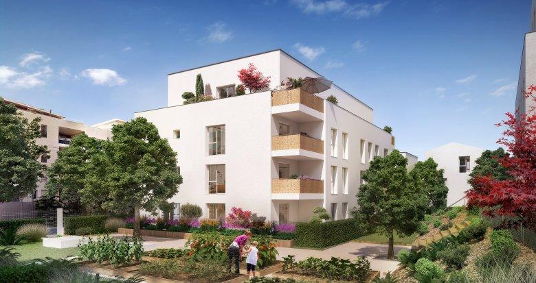 Achat / Vente programme immobilier neuf Vénissieux proche tramway T4 (69200) - Réf. 3396