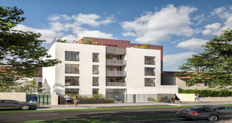 Achat / Vente programme immobilier neuf Vénissieux proche tramway T6 (69200) - Réf. 5981