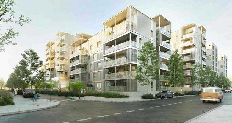 Achat / Vente programme immobilier neuf Vénissieux quartier Grand Parilly (69200) - Réf. 5891