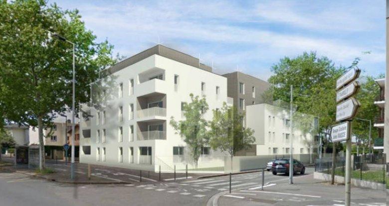 Achat / Vente programme immobilier neuf Vénissieux quartier Parilly (69200) - Réf. 3513