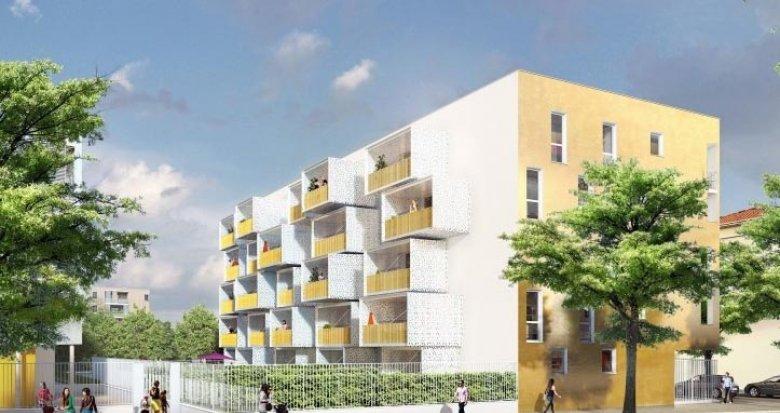 Achat / Vente programme immobilier neuf Vénissieux village proche centre (69200) - Réf. 2047