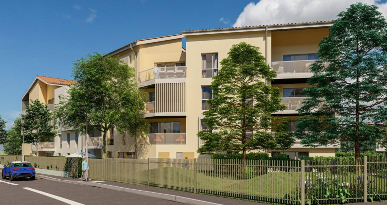 Achat / Vente programme immobilier neuf Villefranche-sur-Saône à 15min à pied de la gare (69400) - Réf. 6172