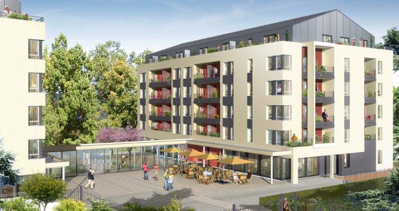 Achat / Vente programme immobilier neuf Villefranche sur Saône résidence séniors (69400) - Réf. 1145