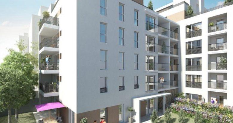 Achat / Vente programme immobilier neuf Villeurbanne à 5 minutes de la Place Grandclément (69100) - Réf. 351