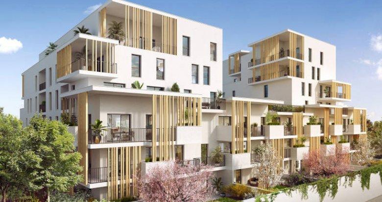 Achat / Vente programme immobilier neuf Villeurbanne à 500 mètres du métro (69100) - Réf. 4759