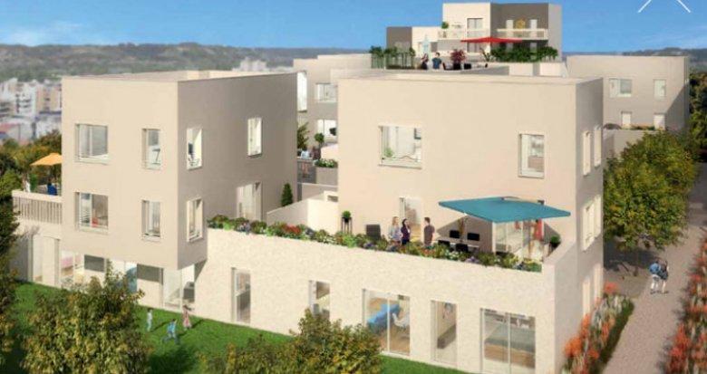 Achat / Vente programme immobilier neuf Villeurbanne à 500 mètres du Métro République (69100) - Réf. 3205