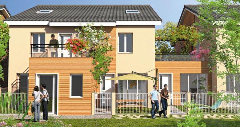 Achat / Vente programme immobilier neuf Villeurbanne à deux pas du Campus de La Doua (69100) - Réf. 1066