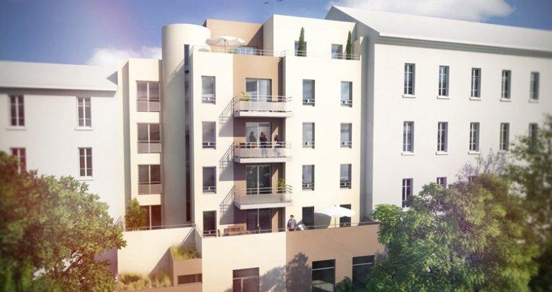 Achat / Vente programme immobilier neuf Villeurbanne à moins de 100m du Métro Flachet (69100) - Réf. 682