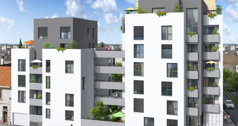Achat / Vente programme immobilier neuf Villeurbanne, arrêt de Tramway Condorcet (69100) - Réf. 350