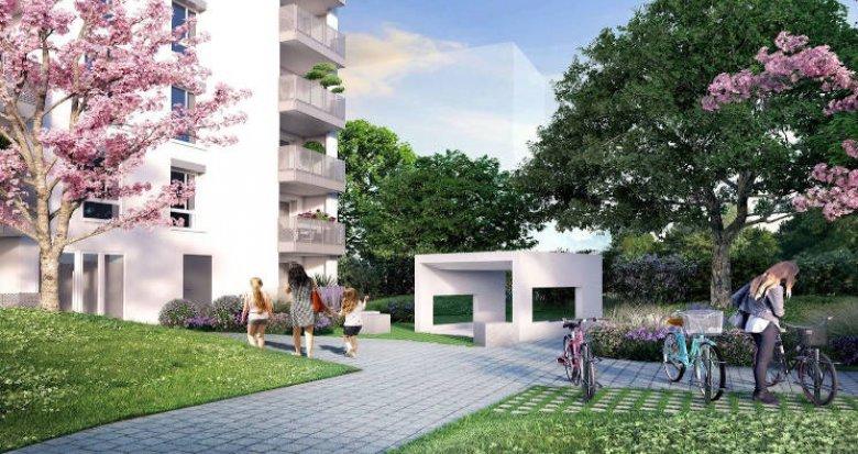 Achat / Vente programme immobilier neuf Villeurbanne au coeur du quartier Carré de Soie (69100) - Réf. 4029