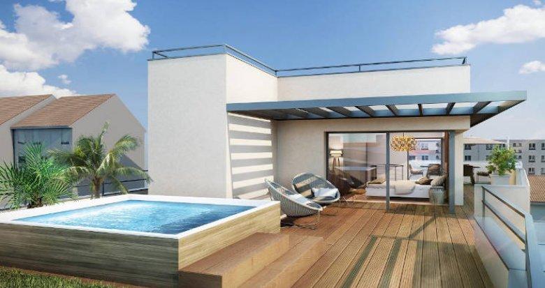 Achat / Vente programme immobilier neuf Villeurbanne au coeur du quartier Grand Clément (69100) - Réf. 3904