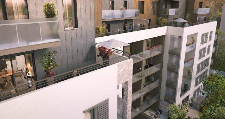 Achat / Vente programme immobilier neuf Villeurbanne au pied des transports (69100) - Réf. 4495