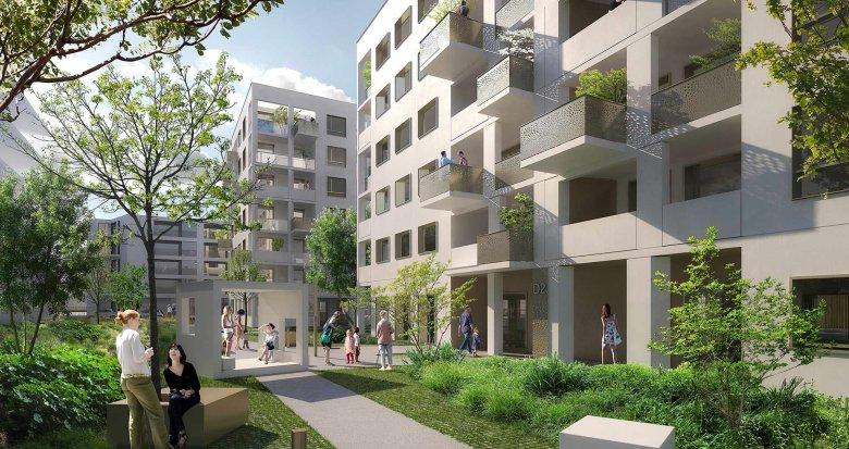 Achat / Vente programme immobilier neuf Villeurbanne Carré de Soie (69100) - Réf. 2452