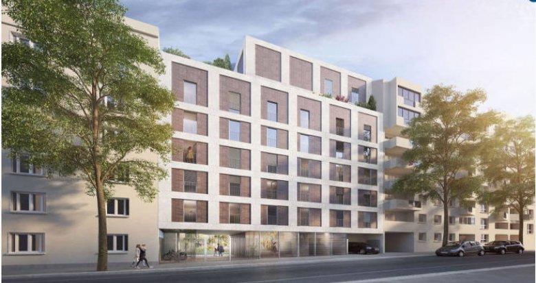 Achat / Vente programme immobilier neuf Villeurbanne cœur quartier de Ferrandière (69100) - Réf. 4512