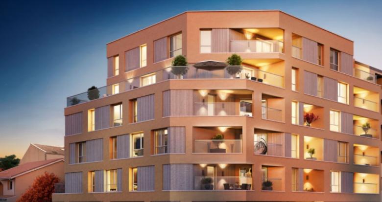 Achat / Vente programme immobilier neuf Villeurbanne Croix Luzet (69100) - Réf. 5313