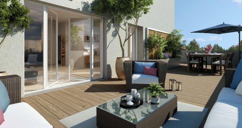 Achat / Vente programme immobilier neuf Villeurbanne lisière Montchat (69100) - Réf. 1373