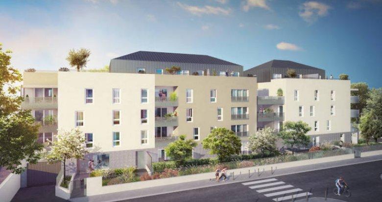 Achat / Vente programme immobilier neuf Villeurbanne proche campus de la Doua (69100) - Réf. 3509