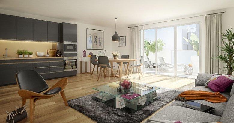 Achat / Vente programme immobilier neuf Villeurbanne proche Campus de La Doua (69100) - Réf. 2551