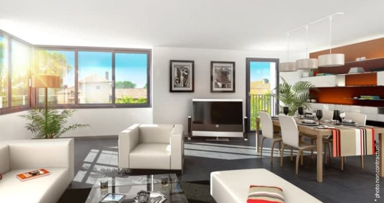 Achat / Vente programme immobilier neuf Villeurbanne proche centre-ville Lyon (69100) - Réf. 2169
