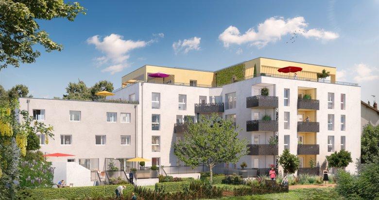 Achat / Vente programme immobilier neuf Villeurbanne proche de l'arrêt Flachet (69100) - Réf. 2474
